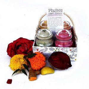 100% Natural Holi Color Gift Basket