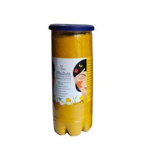holi natural yellow color