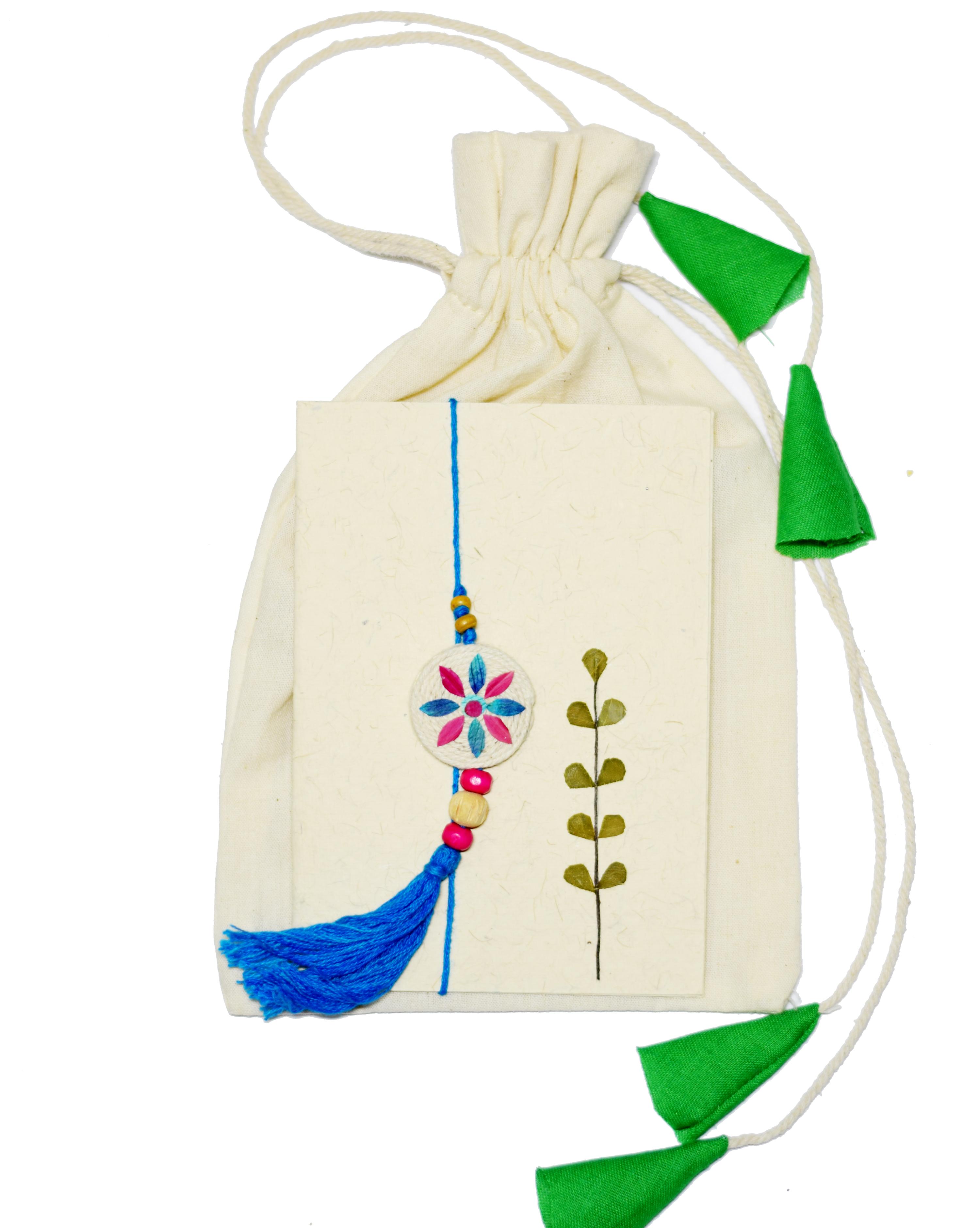 Gulmeher Lumba-Flowerwheel (Blue)- set of 1 Lumba
