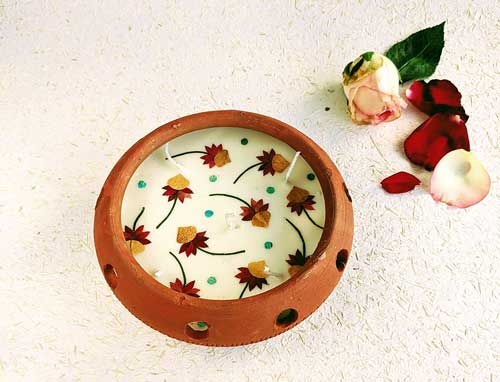 Udan Tashtari Diya -7″ (with Box)