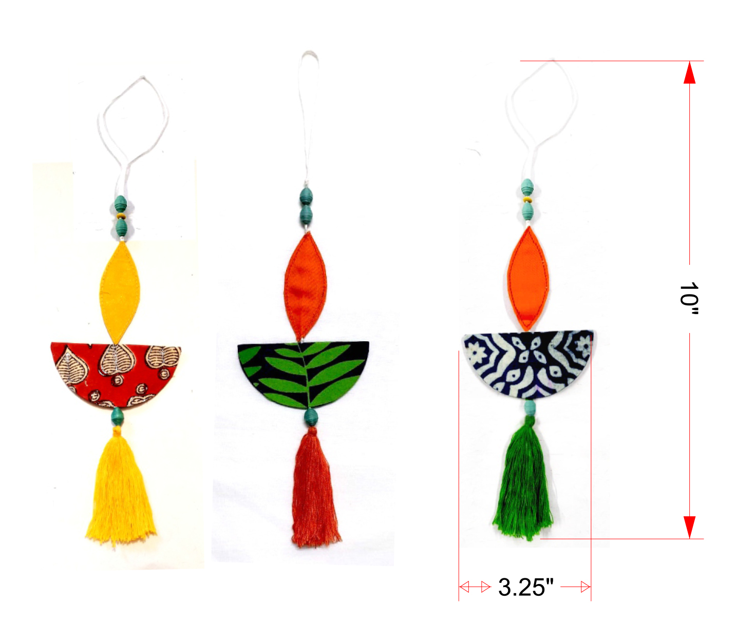 """Hanging- Deep 10 """" Inch (pack of 3pcs)"""